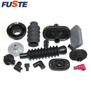 Molded vulcanized variety rubber parts