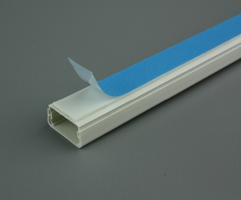 PVC Material PZC Wiring Duct, Telephone Wiring Duct, Round Type Wiring Duct
