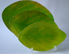 Leaf Shaped Tempered Glass Plate Dry Fruit Tray Cake Dish