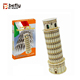 Leaning Tower of Pisa famous building 3d paper puzzle