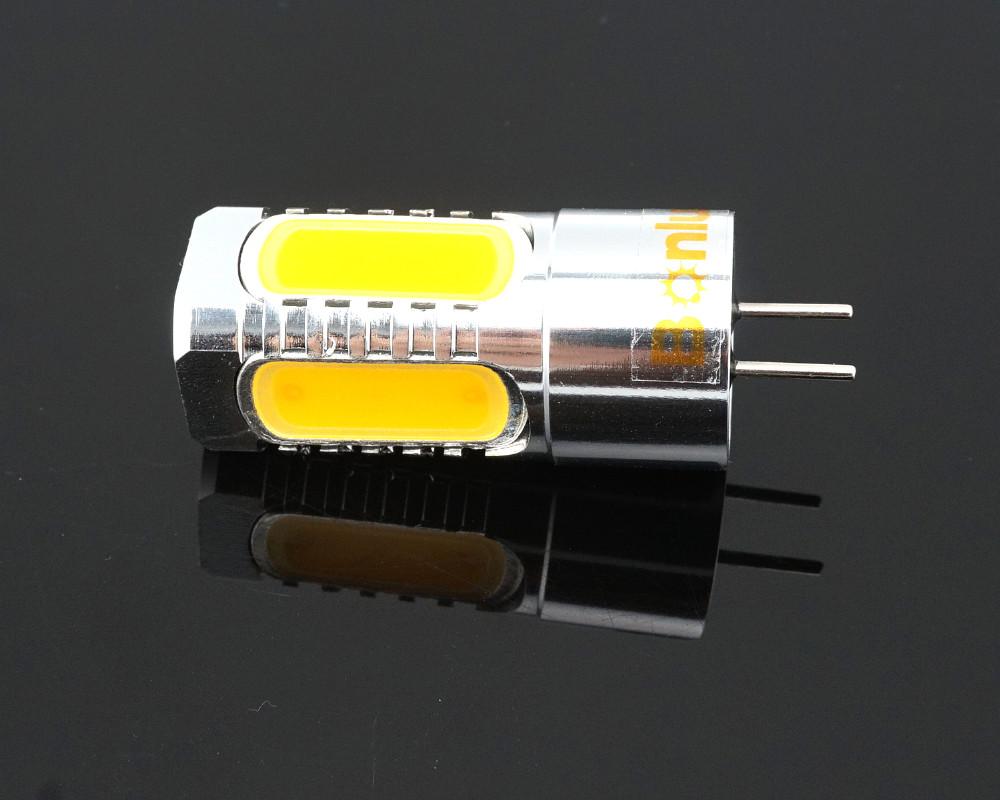 Led Gy6 35 12v Ac Dc Bulb Light 450lm 5 Watts Cob Leds G6