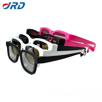 Cheaper Price Passive polarized 3D Glasses for 3D Movies