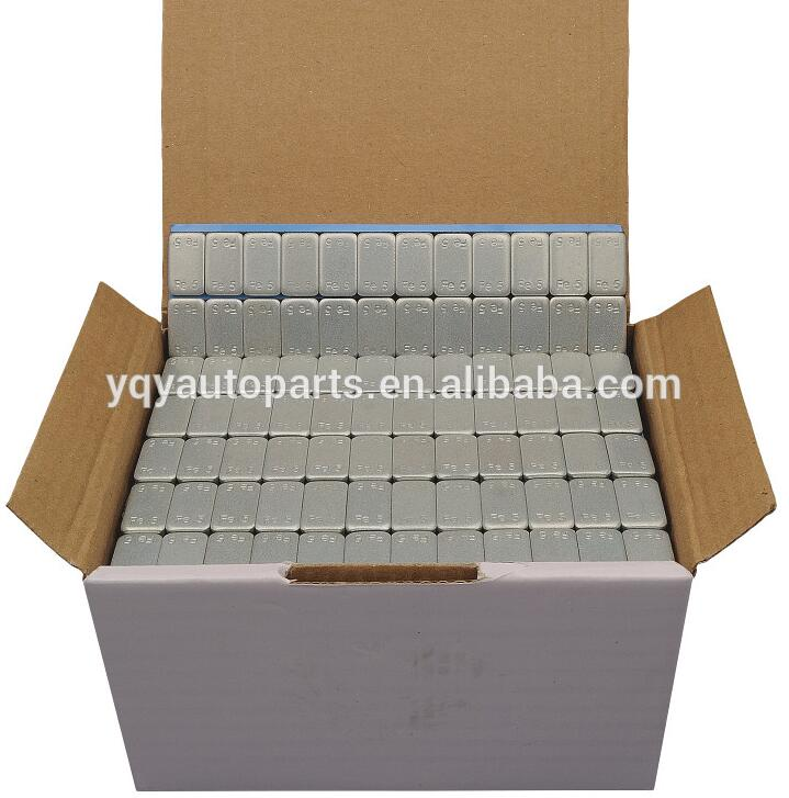 Factory price Plastic coated 5g*12 adhesive wheel balancing weight
