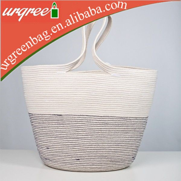 Bicolour Cotton Webbing Bag Strap