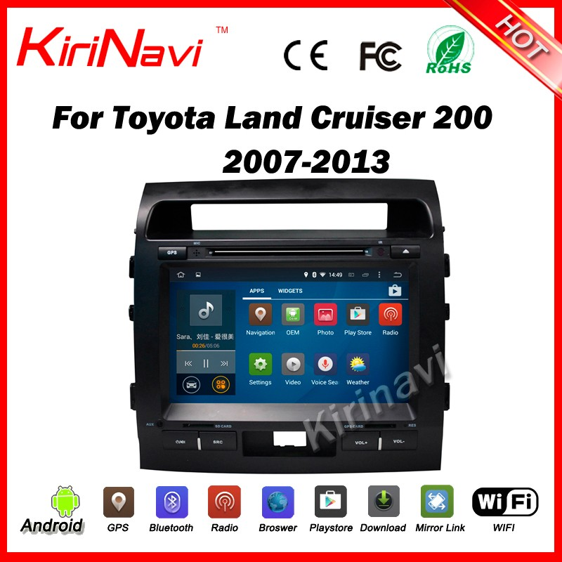 "Kirinavi 9"" WC-TL9006 android 5.1 <strong>car</strong> radio double din <strong>car</strong> gps dvd for <strong>toyota</strong> land cruiser 200 2007-2013 multimedia system wifi"