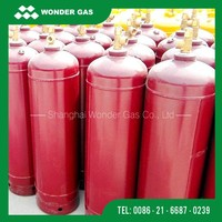 Different Capacity High Pressure Acetylene Gas Cylinder Used For Welding