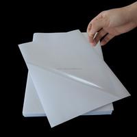 NEWMAX Transparent Custom PVC Self Adhesive Sticker Paper
