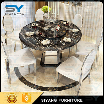 Foshan Furniture Dining Room Table 12 Seater Dining Table Marble ...