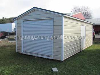 Hochwertigen Mobilen Fertig Wirft Billige Stahlkonstruktion Garage Mit  Niedrigem Preis