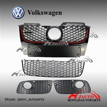 VW Jetta Golf V GTI MK5 Grille, VW MK5 Grill Upper Center Hood Grille
