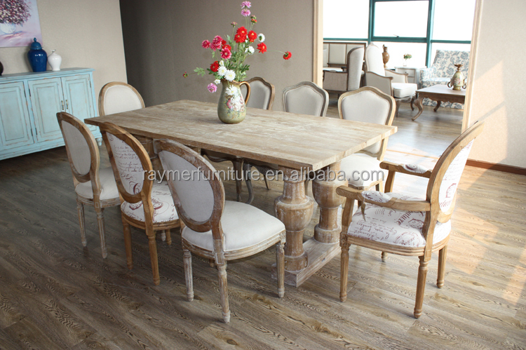 Antique Dining Room Furniture Solid Oak Wood Tables And Chairs