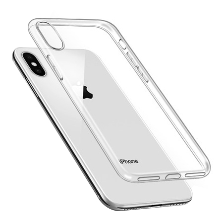Hot Selling Flexible Transparent Clear TPU Phone Case for iPhone X, for iPhone X Case