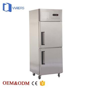 Peralatan Dapur Mekanik Dengan Kualitas Tinggi Sistem Pendingin Freezer Cepat Kecepatan Rendah Menurunkan Suhu Untuk Penyimpanan