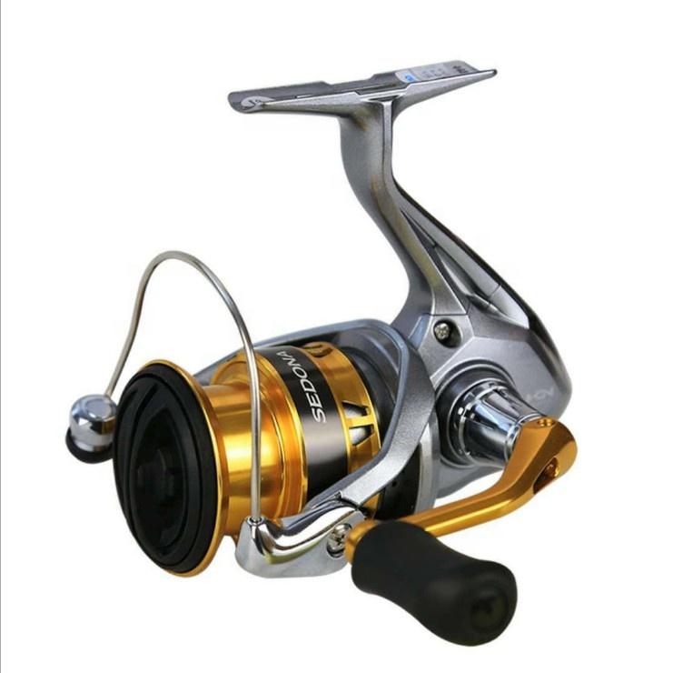 Original Shimano SEDONA FI 1000 2500 2500HG C3000HG C4000 C5000XG Spinning Fishing Reel Deep Cup 4BB Hagane Gear Saltwater