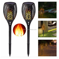96 LED Flickering landscape Garden Lamp Dancing Flame Solar Torch Garden Lights outdoor integrated led solar garden light