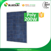 China made cheap price top quality poly solar panel 200w price per watt solar panels