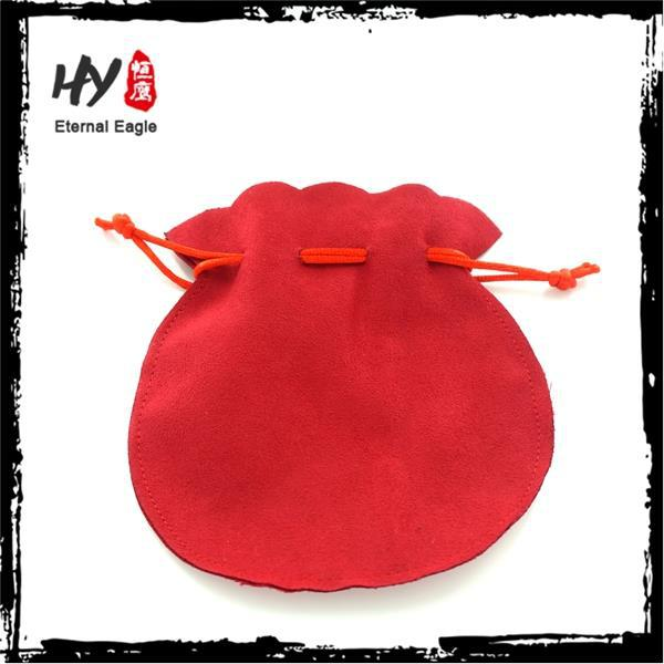 Wholesale superior cloth jewelry pouch, jewelry pouch fold, custom velvet drawstring pouches