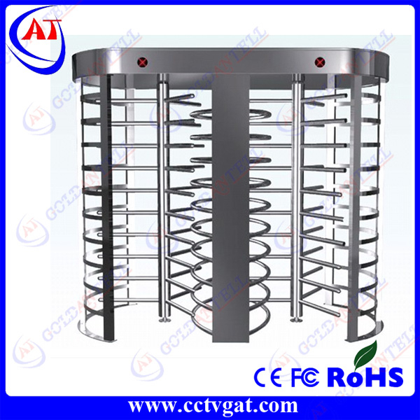 90 degree/120 degree dual channel electric full height turnstile price GAT-501
