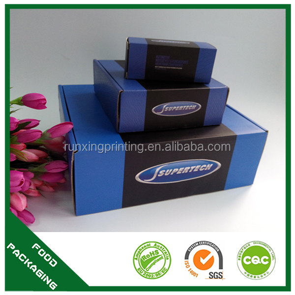 brown corrugated box for electronic packing box manufature