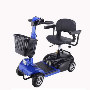 Adjustment Folding Four Wheels 1 Seat 24v 250w Elderly Adult Electric Mobility Scooter For Handicapped Buy Electric Mobility Scooter Adult Electric