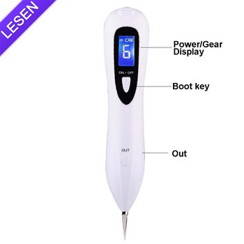 2018 White Mole Removal Spot Laser Beauty Plasma Pen Wrinkle Salon Machine