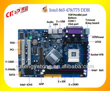 High Performance 865 lenovo motherboard with good price