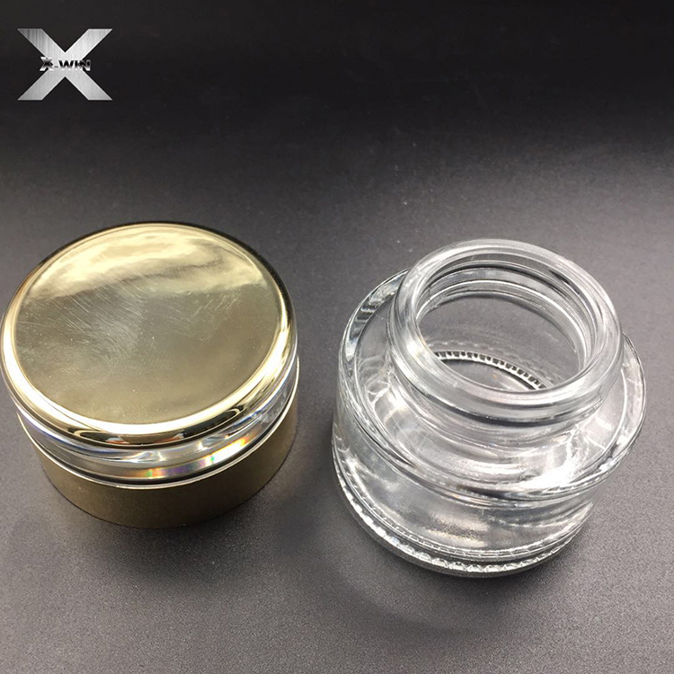 30ml-120ml wholesale round pump spray cosmetic foundation glass bottle