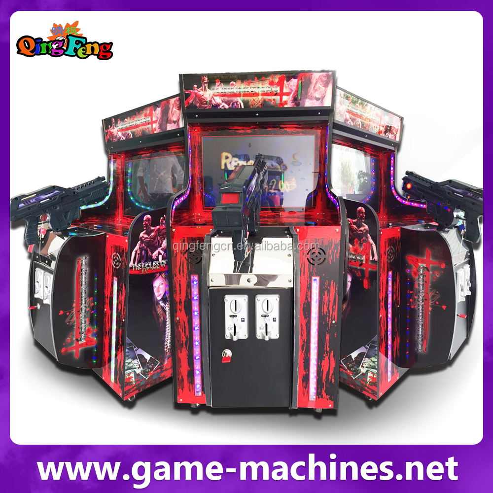 The House Of The Dead 4 Newest Arcade Laser Tag Equipment Game ...