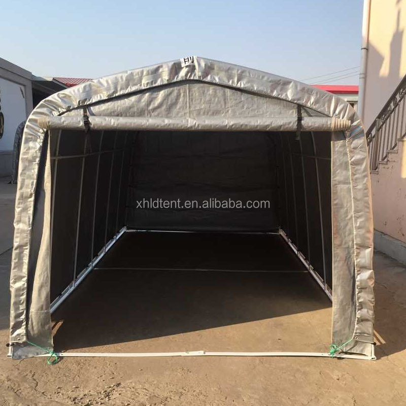 XH1235 China wholesale family steel frame storage tent/car shelter price