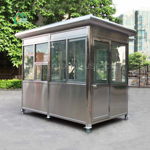 easy installation light steel mobile coffee/office/shop/shed/cabin/cottage