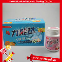 Xylitol Free-sugar Orange Chewing Gum