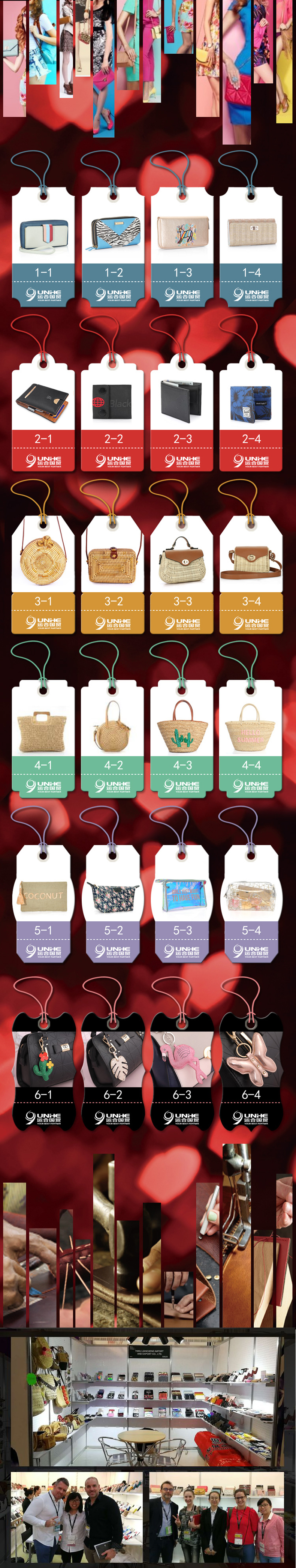 Custom style variety transparent lady's PVC  cosmetics small bag