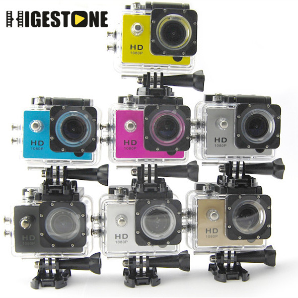 HD 1080P WiFi Cheap Waterproof Wireless Pro Action Sport <strong>Camera</strong>