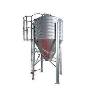 China Made high quality safety carbon steel bean grain silo