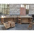 French country style grey reclaimed wood chinese sideboard