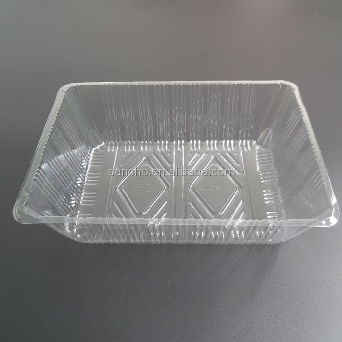 Biodegradable disposable fresh vegetable box fruit container retain packing