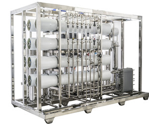 FDA GMP Approved 250LPH Reverse Osmosis Purified Water System for Pharma Industry