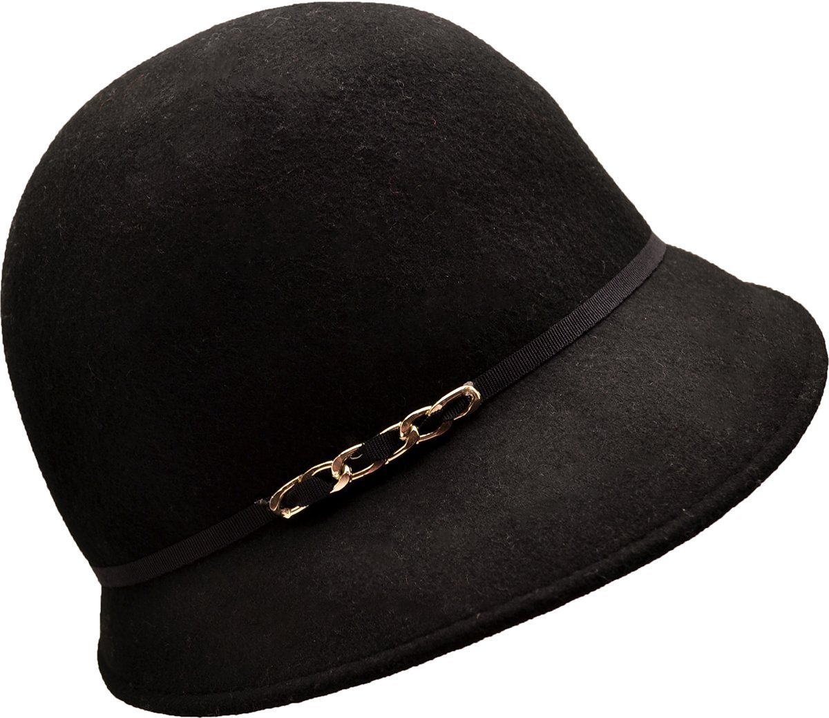 0d4c6dd320a Get Quotations · August Accessories Womens Black Bucket Hat