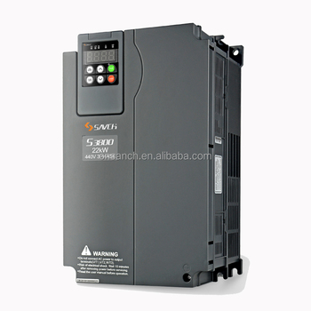 SANCH 3 ph 380v-480v input AC inverter 22kw high performance output induction motor speed control for heavy duty and normal duty