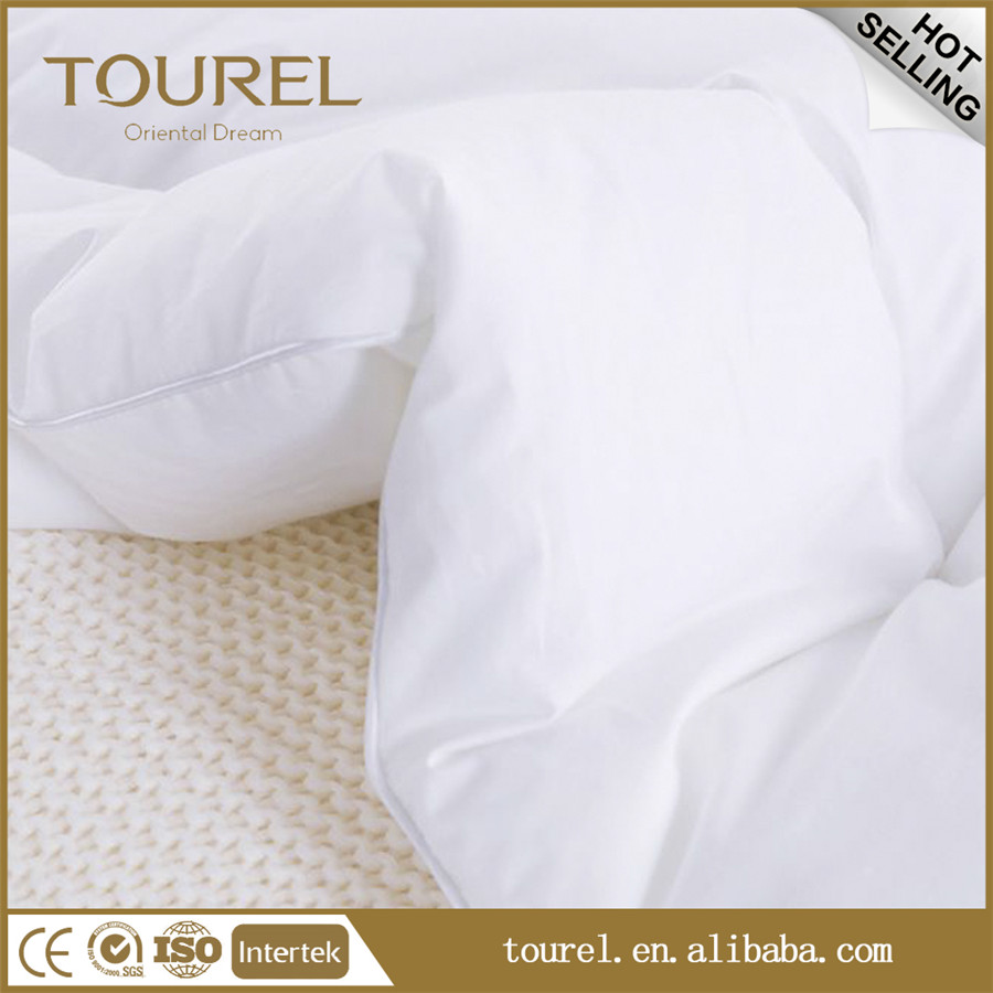 Velour quilt special design bamboo air conditioning quilt all kinds of customise hotel white quilt