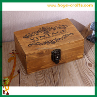 Large rectangular plain handcrafted wooden boxes