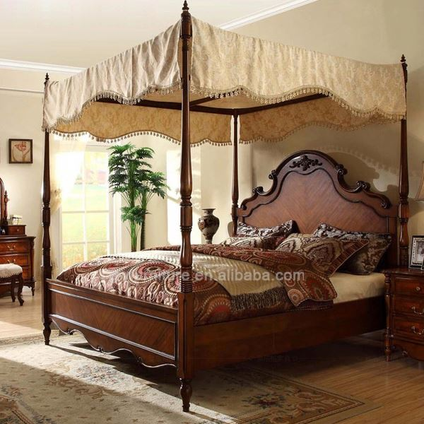 white european classical bedrooms