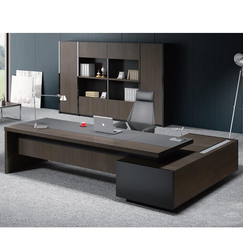 Design moderno Boss Ufficio Scrivania Fabbrica di Design Brevettato Modelli Direttore Tavolo Ufficio Scrivania Direzionale
