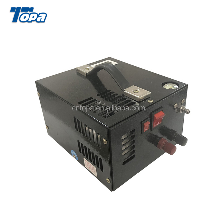Hot small high pressure chinese portable pcp car electric pcp pump 12V air compressor