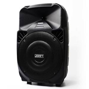 JERRY brand 12 inch professional trolley portable pa system BT wireless good sound factory price speaker