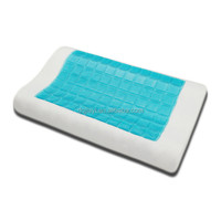 Contour Memory Foam Cold Gel Pillow