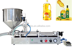 pnuematic olive oil filling machine for bottle , cans