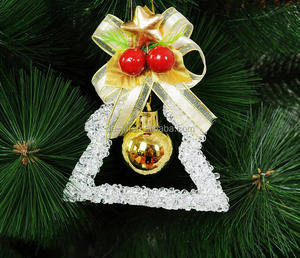 Acrylic Hanging Names Christmas Ornaments