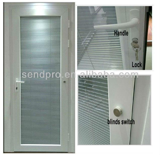 guangzhou fabrik double glas aluminium t ren mit jalousien innen t r produkt id 1222546366. Black Bedroom Furniture Sets. Home Design Ideas