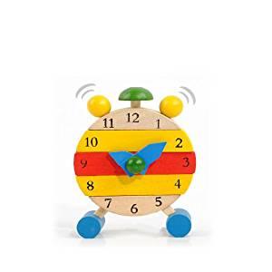 Baby Wooden Learn Time Clock Educational Developmental Disassembly Toy // Madera juguetes desmontaje desarrollo aprender reloj educativa bebé